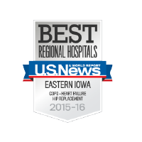 US News Top Ranked Community Hospital in Iowa