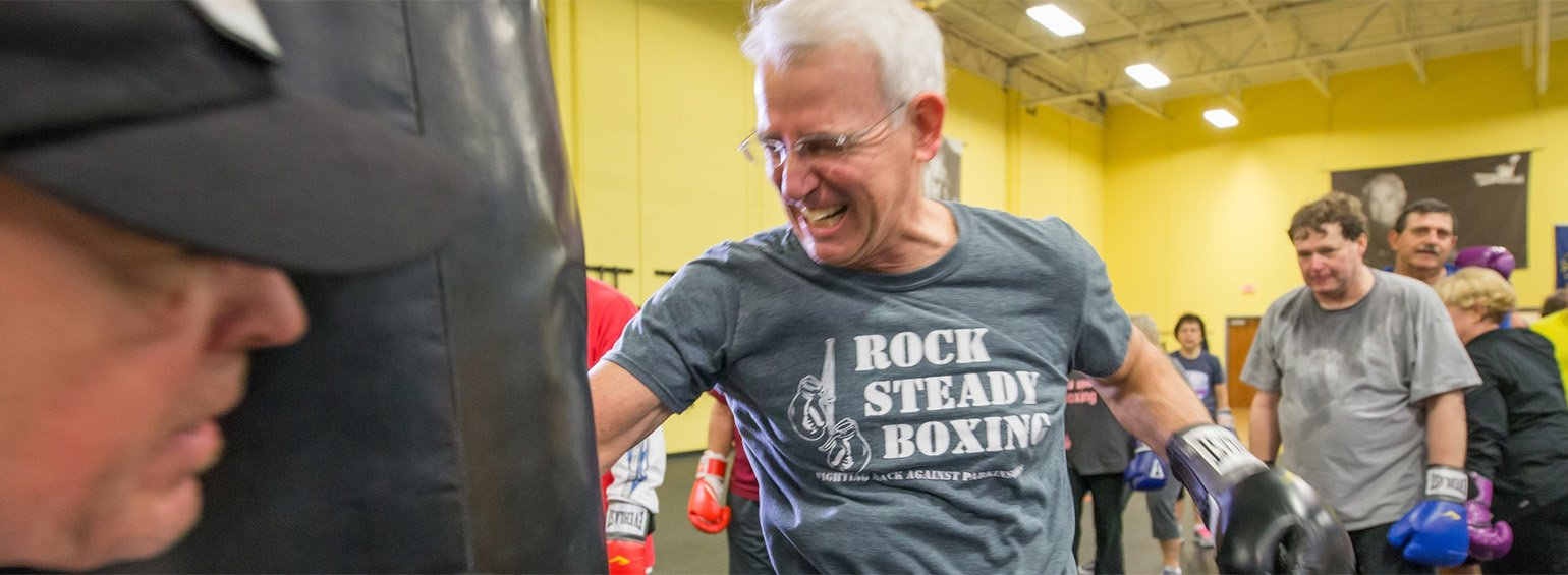 Rock Steady Boxing at Genesis