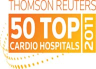 Thomson Reuters 50 Top Cardio Hospitals 2011