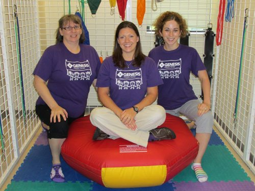 Outpatient Pediatric Physical Therapists:  Nancy, Katie and Kim