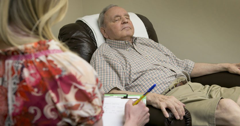 Bill Mateski Used Hypnotherapy to Ease His Pain