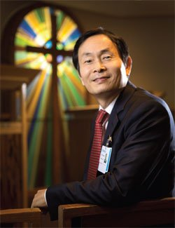 The Rev. Young-ki Eun, Genesis clinical pastoral education supervisor, will lead the Quad Cities' first hospital chaplain residency program. The program will give full-time, yearlong training to six residents, enabling Spiritual Care services at Genesis to expand.