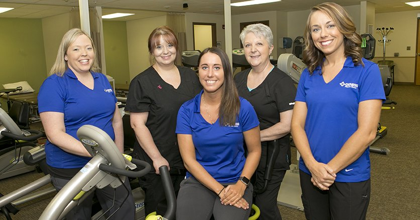 Cardiac Rehab Team at Genesis Medical Center, Aledo