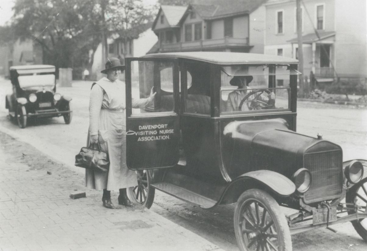 VNA gets its first vehicle, a Model T.
