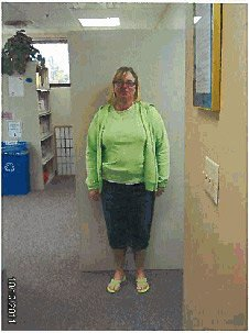 Kim Higby prior to bariatric surgery