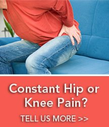 Take our Survey if you have hip or knee pain.