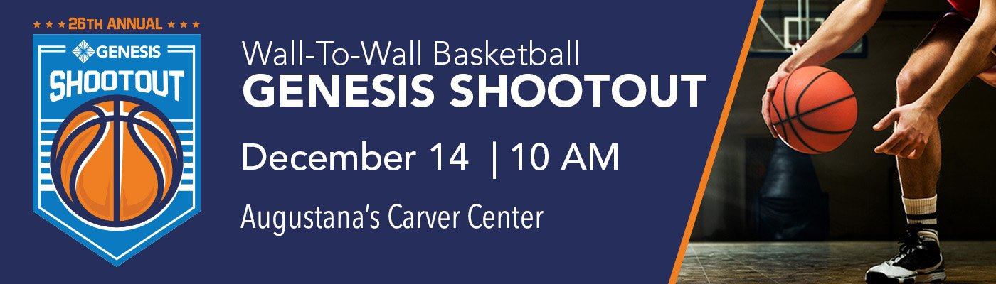 Genesis Shootout | Join us for a great day of high school basketball. Admission just $5.