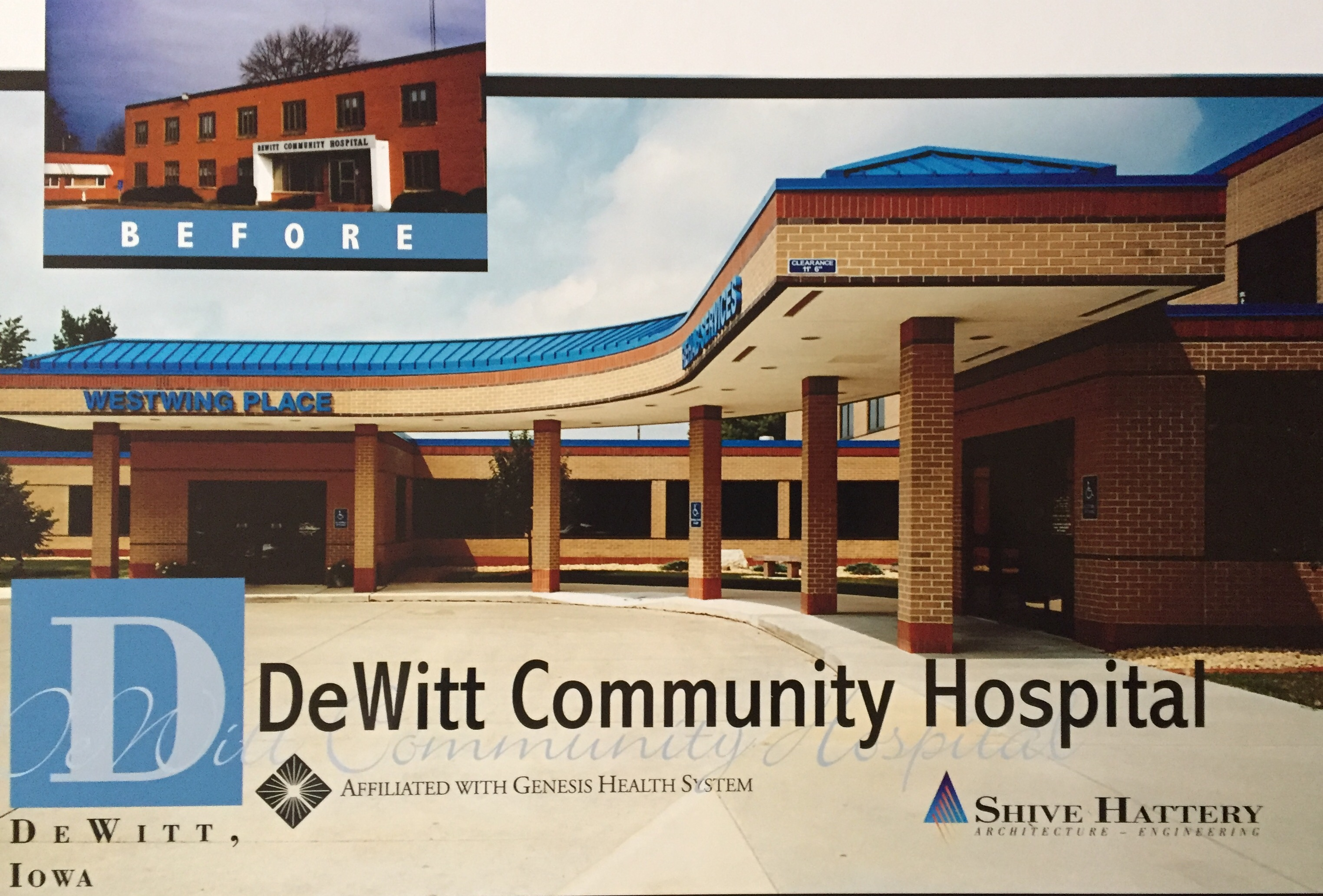 Major renovations take place at DeWitt Community Hospital.