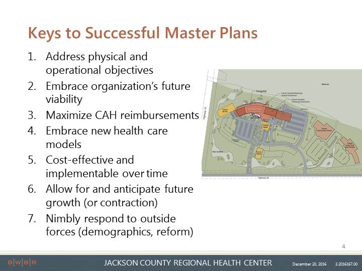 JCRHC Master Site and Facility Planning
