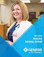 Learn more about Nursing at Genesis through our Biennial Report