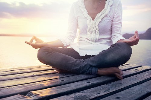 Achieve peace through mindfulness and meditation