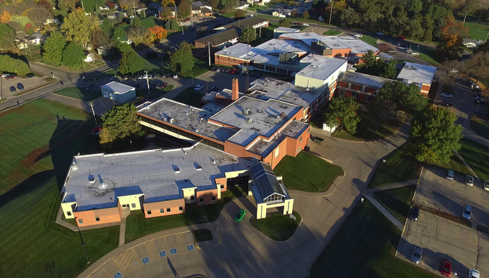 Jackson County Regional Health Center Aerial View