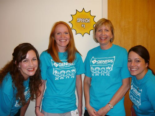 Outpatient Pediatric Speech Therapists:  Kristi, Katie, Deb and Melissa