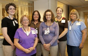 Staff members from Orthopedic Therapy.