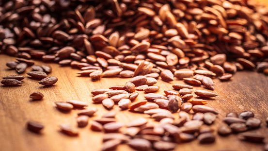Flaxseed is a great source of Omega-3