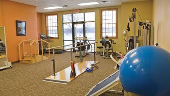 Physical Rehabilitation room at LeClaire.