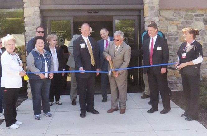 The ribbon-cutting ceremony unveils a modernized Genesis Medical Center, Aledo.